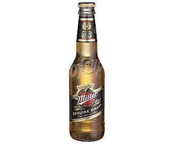MILLER Cerveza americana Botella de 33 centilitros
