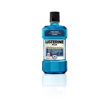 Listerine Enjuague bucal plus  Bote de 500 ml