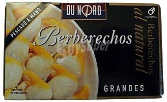 Dunord Berberechos natural grandes Lata 63 g escurrido