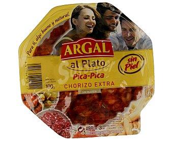 ARGAL Chorizo sin piel en lonchas 100 g