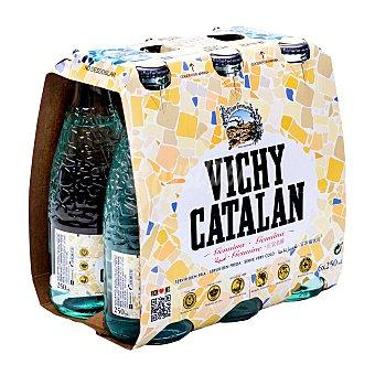 Vichy Catalán Agua mineral con gas Pack 6 x 25 cl