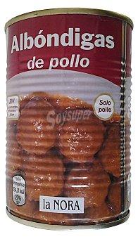 La Nora Albondigas de pollo Bote 415 g