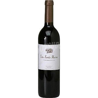 VIÑA SANTA MARINA Vino tinto tempranillo de Extremadura Botella 75 cl