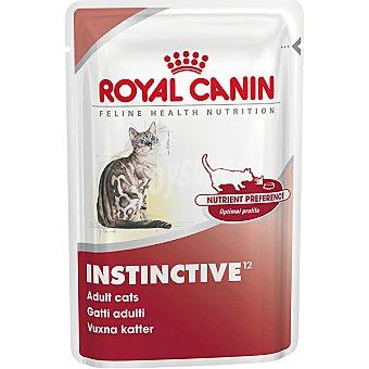 ROYAL CANIN INSTINCTIVE Alimento completo en forma de trocitos en salsa para el mantenimiento del gato adulto bolsa 85 g Bolsa 85 g