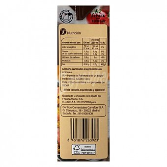 Carrefour Caldo para paella sin gluten 1 L 1 l