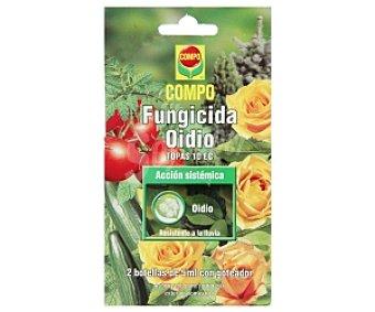 COMPO Fungicida Oidio, resistente a la lluvia 2 Unidades de 5 Mililitros