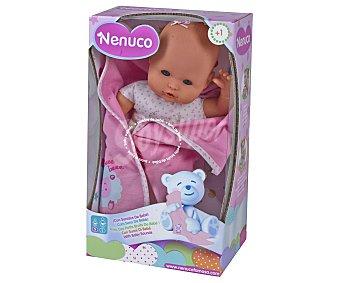 Nenuco Muñeco bebé Nenuco recién nacido con sonidos de bebé 1 unidad