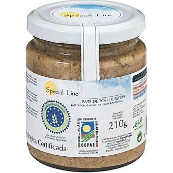 Special Line paté de tofu biológico con algas  envase 210 g