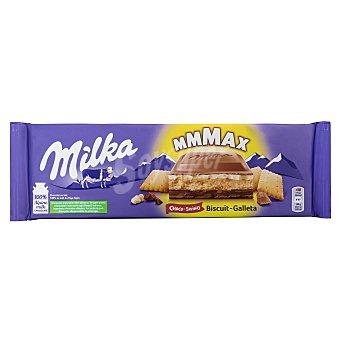 Milka Chocolate con leche relleno de galleta Paquete 300 g