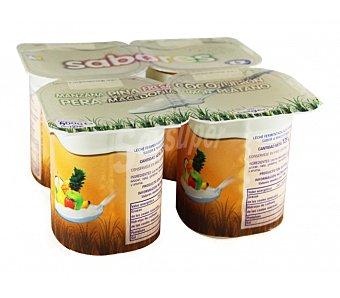 Kalise Yogur de coco y macedonia Pack 8x125 g