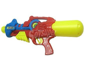 Juguete exterior Pistola-rifle de agua con regulación de presión, 49x23x9cm., EXTERIOR.