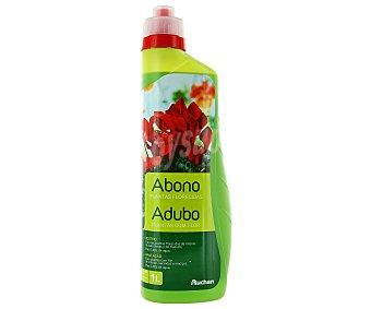 Auchan de abono líquido especial planta florecidas auchan Botella de 1 litro