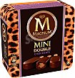 Double chocolate mini Caja 6 x 60 ml Magnum Frigo