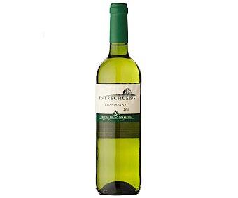 Entrechuelos Vino blanco Chardonnay Botella de 75 Centilitros