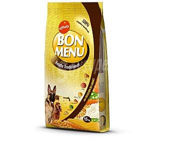 Bon Menu Affinity Comida seca para perros: Croquetas Receta tradicional 15kg