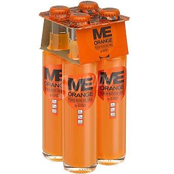 ORANGE Premium refresco de naranja con gas  pack 4 botellas 20 cl