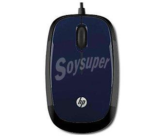 HP X3000 Ratón óptico Inalámbrico, sin cable Wireless Mouse, con rueda, 3 botones, USB 2.0