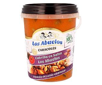 LOS ABUELOS Cabrilla en salsa  Tarrina de 1 kg