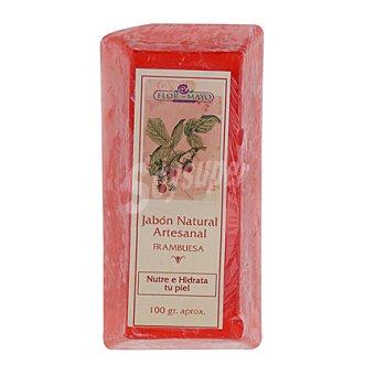 Flor de Mayo Lingote jabón frambuesa 100 g