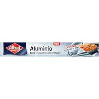 Albal Papel de aluminio reforzado 30+6 metros