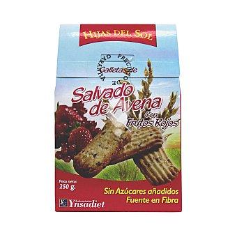 Galletas de salvado de avena con frutos rojos