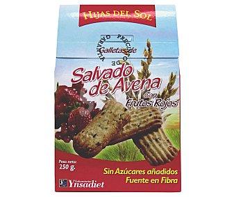 Hijas del Sol Galletas de salvado de avena con frutos rojos Paquete 250 g