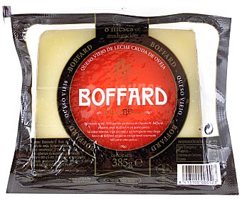 Boffard Queso de oveja reserva en cuña 385 gramos