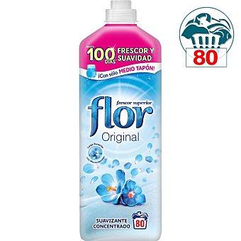 Flor Suavizante concentrado para la ropa Azul Botella 80 dosis