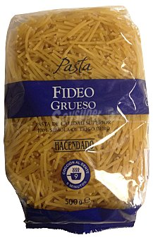 Hacendado Fideo grueso pasta Paquete 500 g