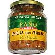 Lentejas con verduras ecológico Tarro 330 g Paño Naturae