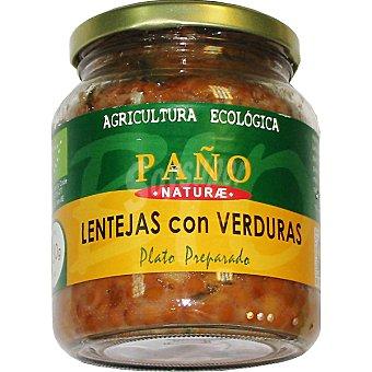 Paño Naturae Lentejas con verduras ecológico Tarro 330 g