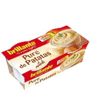 Brillante Pure de patatas Pack de 2x175 g
