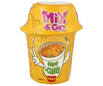 Brillante Mix & go arroz al curry con verduras envase 360 g Envase 360 g