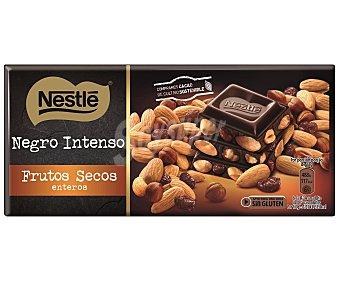 Nestlé Chocolate negro con frutos secos Tableta 200 g