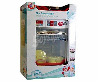 RIK & ROK Mi primer Lavavajillas con Accesorios, de 50 Centímetros, Motiva el Juego Simbólico 1 Unidad