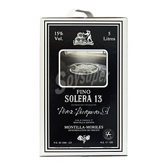 Solera 13 Vino Montilla Garrafa 5 litros