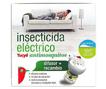 Auchan Difusor eléctrico antimosquitos más recambio 1 unidad