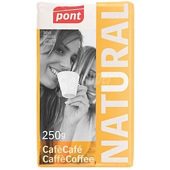 Pont Cafe natural molido Paquete 250 g