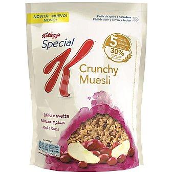 Special K Kellogg's Cereales crunchy muesli manzana y pasas Bolsa 370 g