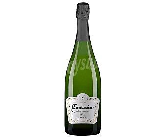 Cantosan Vino espumoso brut elaborado siguiendo el método tradicional y con denominación de origen Rueda cantosan botella de 75 cl. Botella de 75 cl
