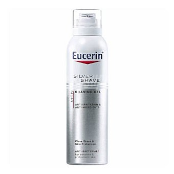 Eucerin Espuma de afeitar para pieles sensibles con efecto antibacteriano Men 150 ml