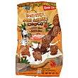 Galletas mini totters animals con 5 cereales y chocolate bolsa 350 gr Bolsa 350 gr DIA