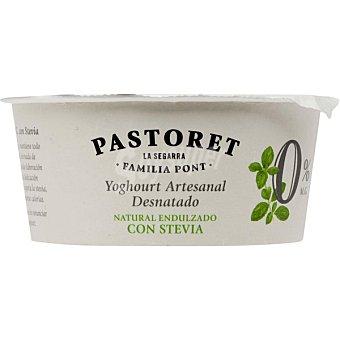 El Pastoret Yogur natural desnatado con stevia envase 125 g Envase 125 g