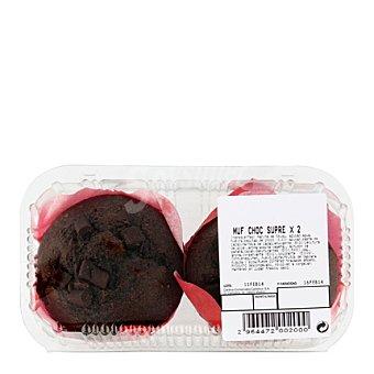Muffins chocolate supreme Envase de 2 u
