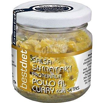 BESTDIET salsa shirataki pollo al curry envase 80 g