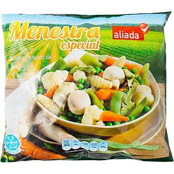 Aliada Menestra especial Juliana de verduras con espárragos Bolsa 1000 g