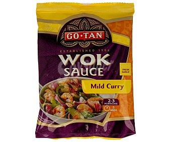 Go-tan Verduras al wok con gambas 120 gramos