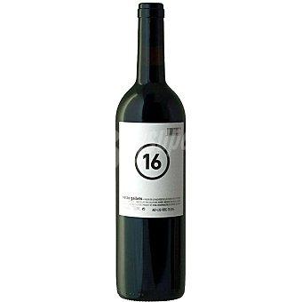 SETZE GALLETS Vino tinto D.O. Valencia botella 75 cl Botella 75 cl
