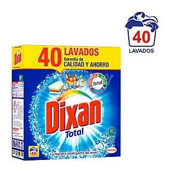 Dixan Detergente en polvo 40 cacitos