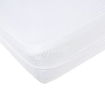 Casactual Funda de colchón blanca para cama 135 cm 1 unidad